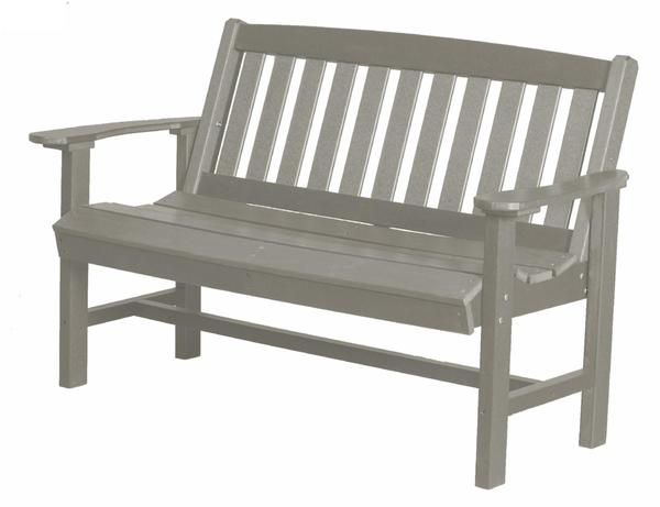 Outdoor Furniture Poly Mission Bench