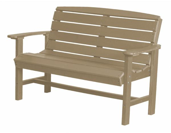 Outdoor Poly Lumber Classic Bench