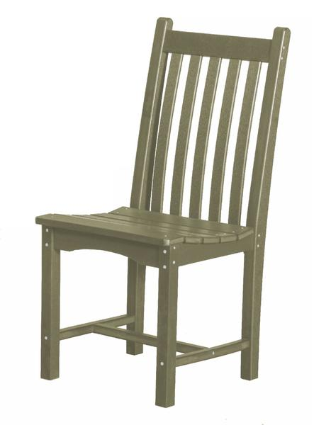 Recycled Poly Outdoor Classic Dining Chair