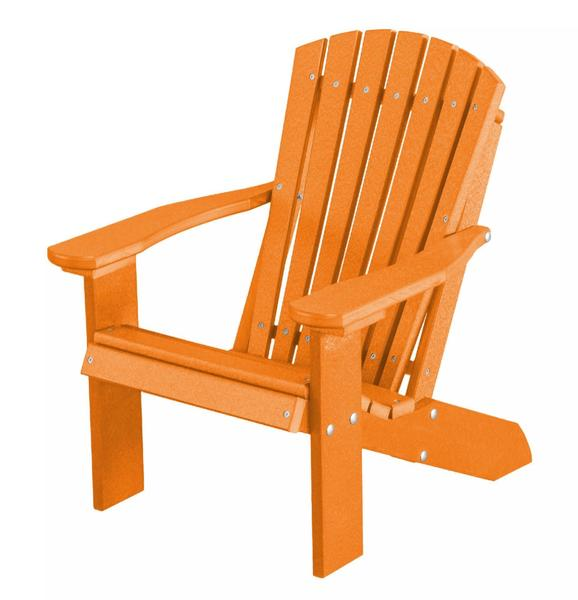 Eco Poly Outdoor All Weather Child's Adirondack Chair