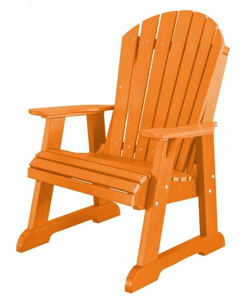 EcoPoly Lumber High Fan Back Patio Chair