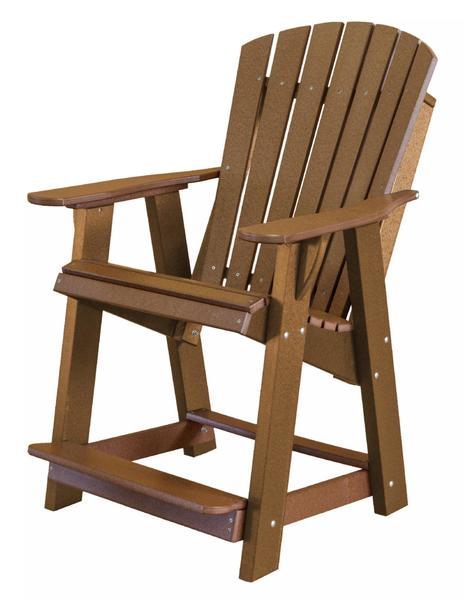 Ecopoly High Adirondack Chair From