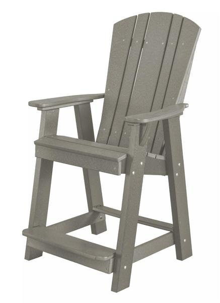 Wildridge Ecopoly Outdoor Furniture Balcony Bar Chair