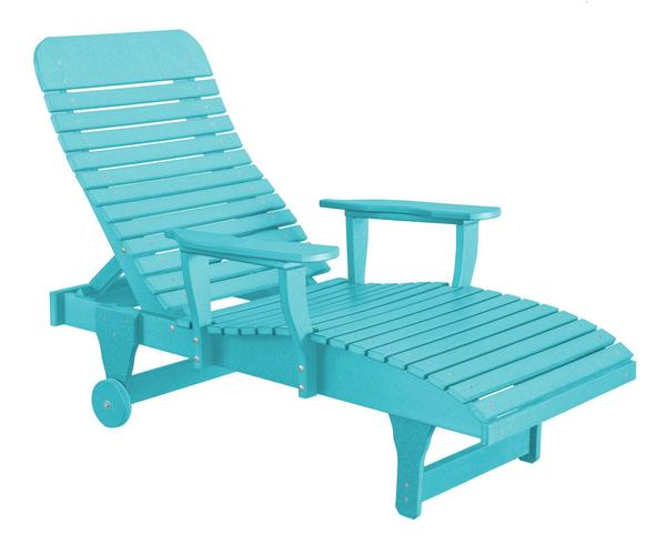 Wildridge Ecopoly Outdoor Chaise Lounge