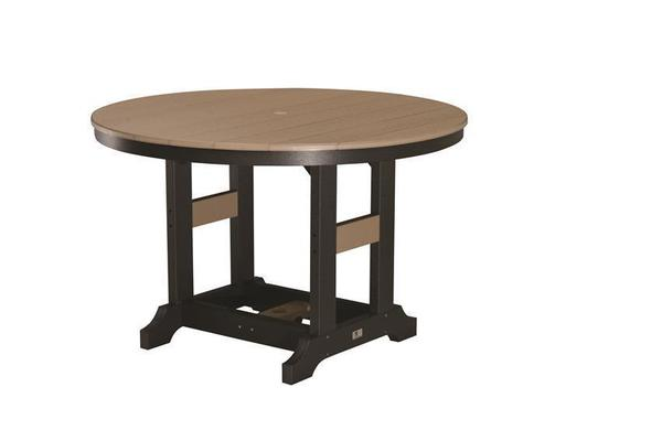 """Berlin Gardens 48"""" Round Poly Counter Table"""