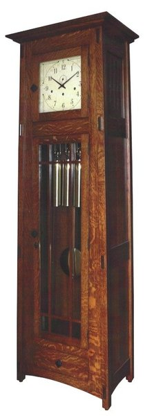 McCoy Mission Mechanical Grandfather Clock