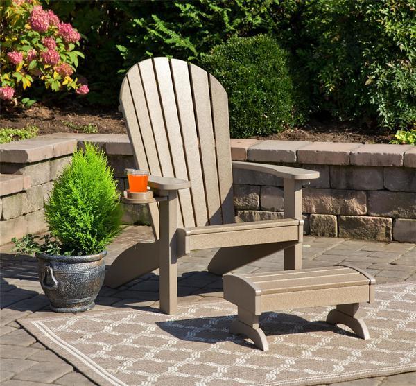 Amish EZ Poly Adirondack Chair