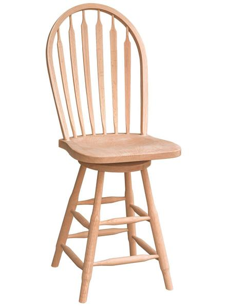 Amish Addieville Windsor Bar Stool