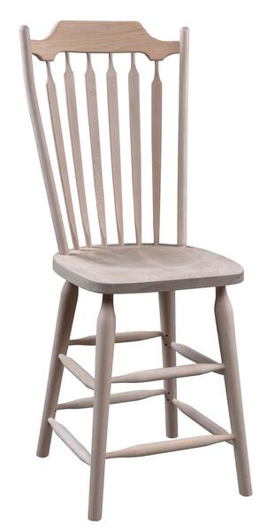 Amish Plum Creek Country Bar Stool