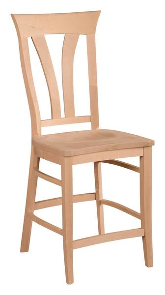 Amish Clifton Bar Stool Chair