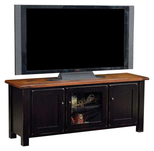 Amish Barn Floor TV Stand