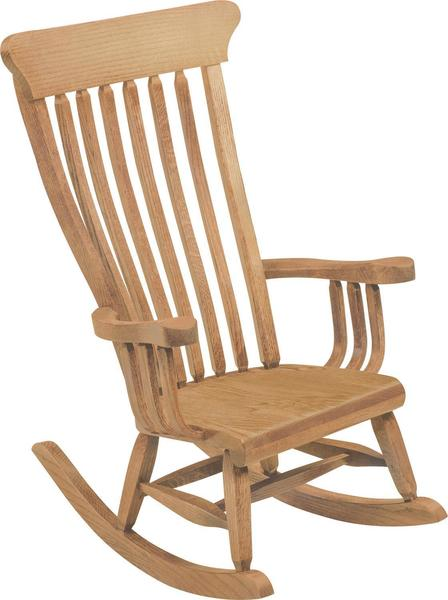 Amish Old South Child's Rocking Chair
