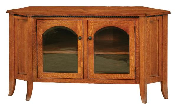 Amish Bunker Hill Corner TV Stand