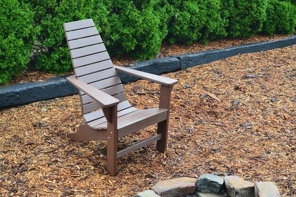Amish Poly New Hope Adirondack Lounge Chair