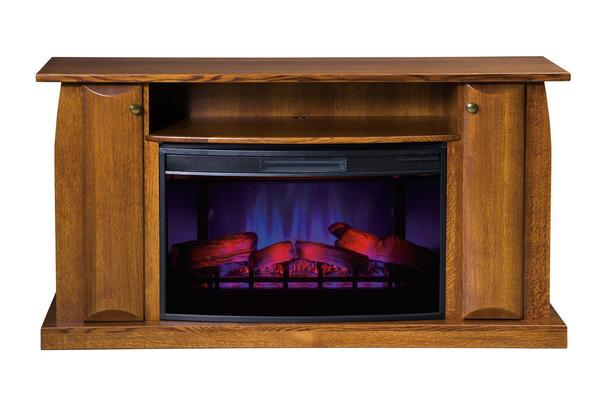 "American Made Shaker 60"" Electric Fireplace TV Stand"