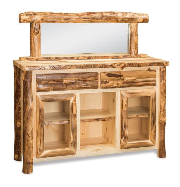 Amish Aspen Wood Buffet