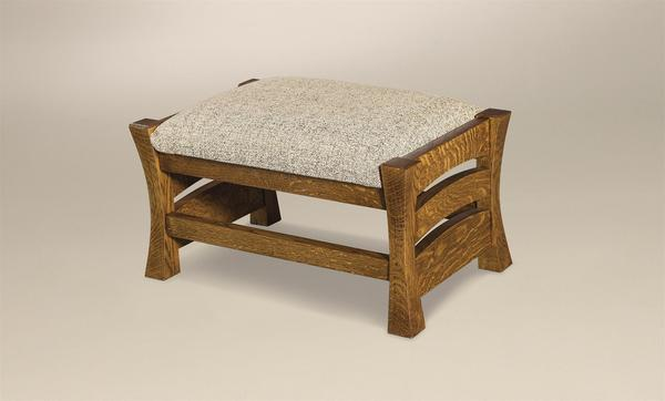 Amish Barrington Footstool