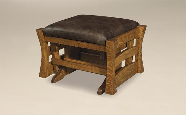 Amish Barrington Gliding Ottoman