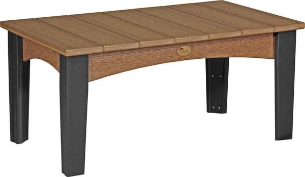 LuxCraft Poly Island Coffee Table