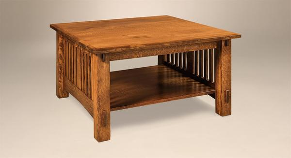 Amish McCoy Mission Coffee Table