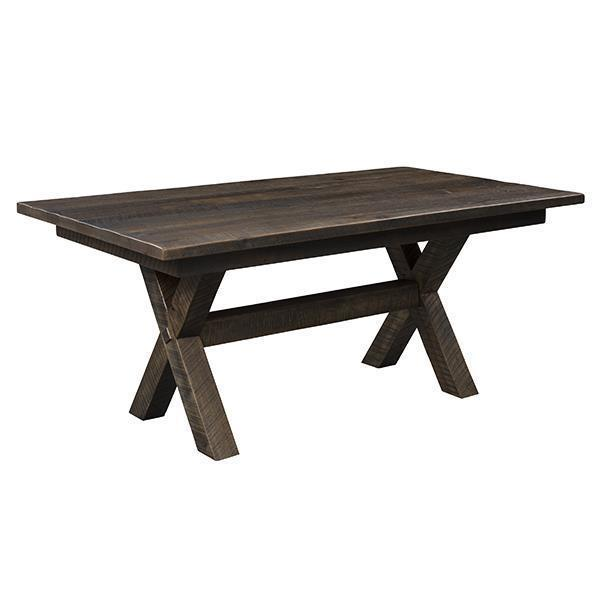 Buxton Solid Top Reclaimed Barn Wood Table
