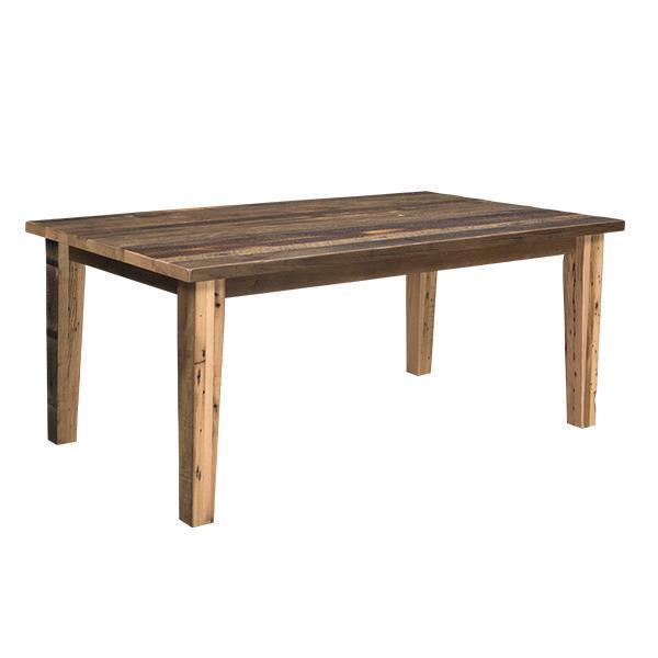 Edinburgh Reclaimed Barn Wood Dining Table