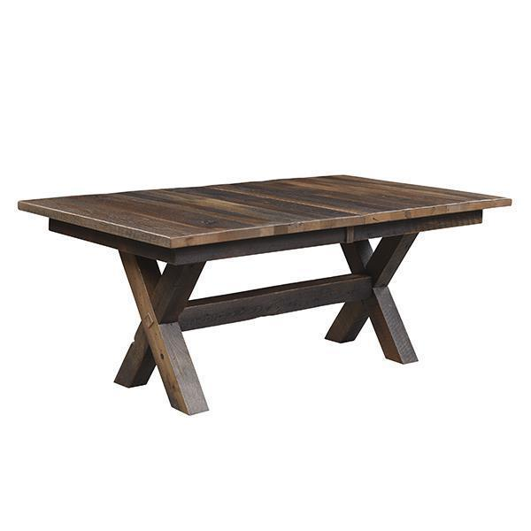 Buxton Reclaimed Barn Wood Extension Dining Table