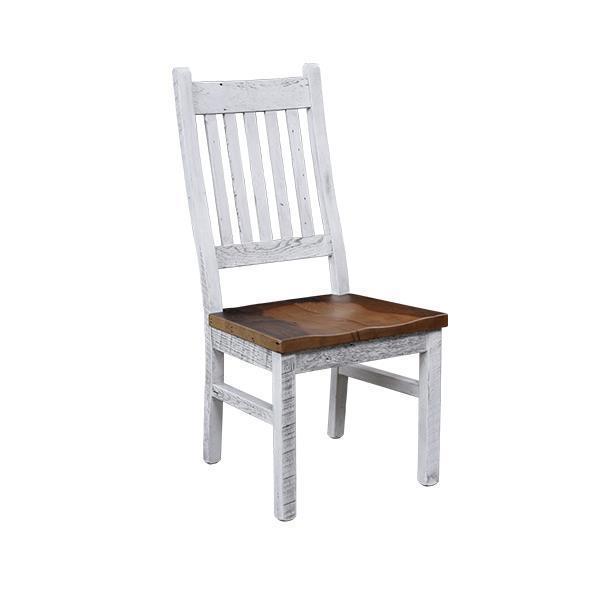 Kowan Reclaimed Barn Wood Side Dining Chair
