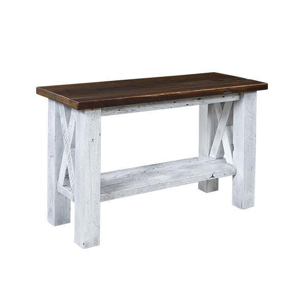 Margate Reclaimed Barn Wood Sofa Table