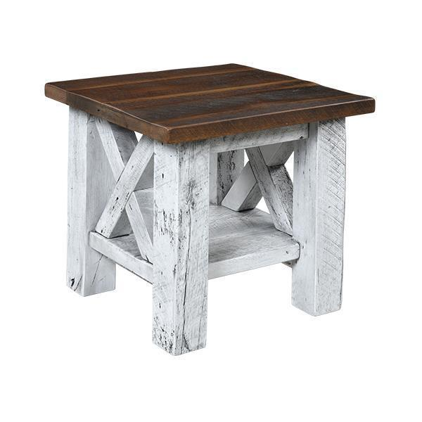 Margate Reclaimed Barn Wood End Table