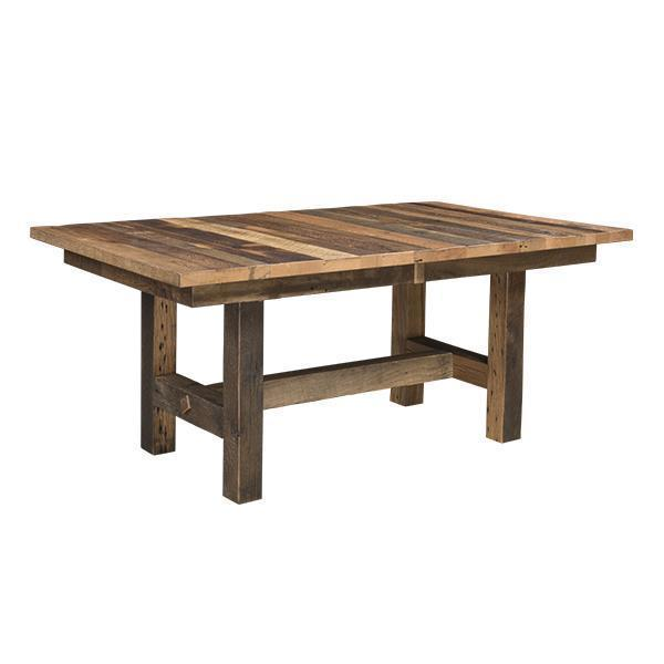Grove Extension Reclaimed Barn Wood Table