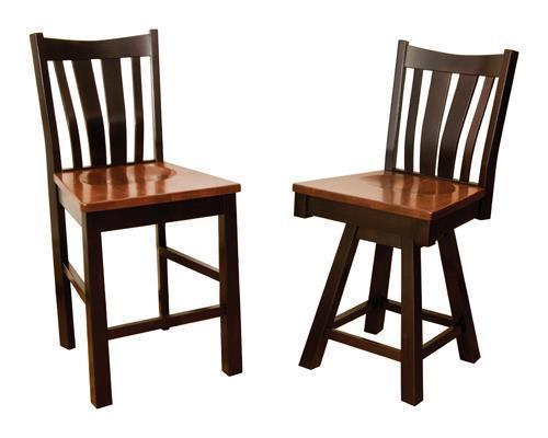 Amish Trento Bar Chair