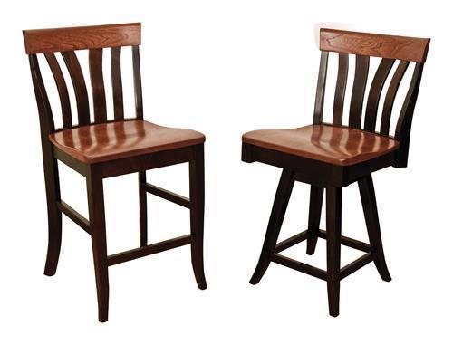 Amish Lennox Bar Stool