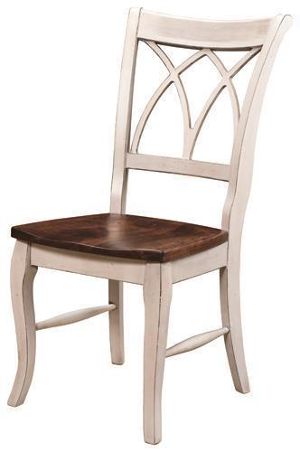 Amish Double-X Back Dining Chair