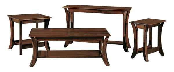 Amish Discovery Sofa Table
