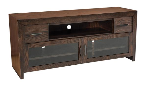 Amish North Avenue TV Cabinet with Drawers