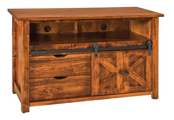 "Amish Teton 49"" TV Cabinet"