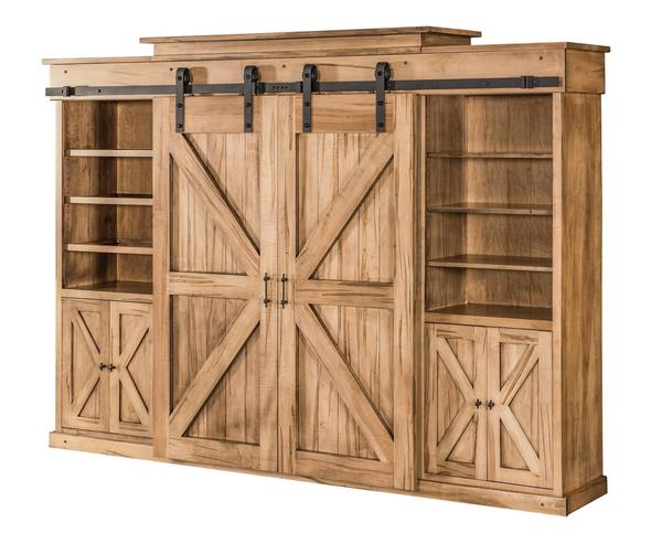 Amish Teton Smaller Wall Unit