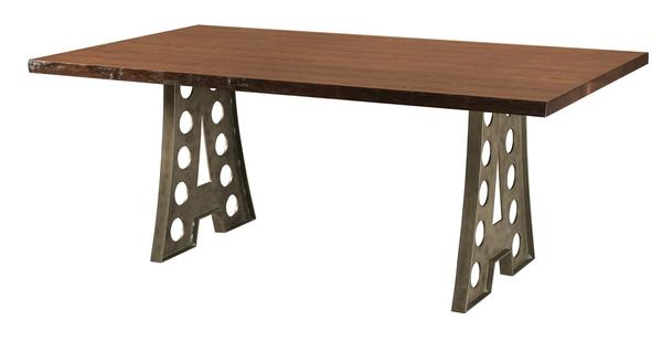 Amish Alpha Industrial Table