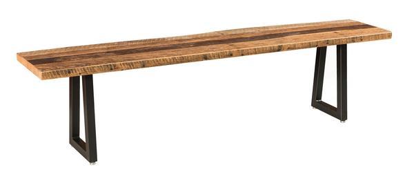 Amish Barnloft Bench