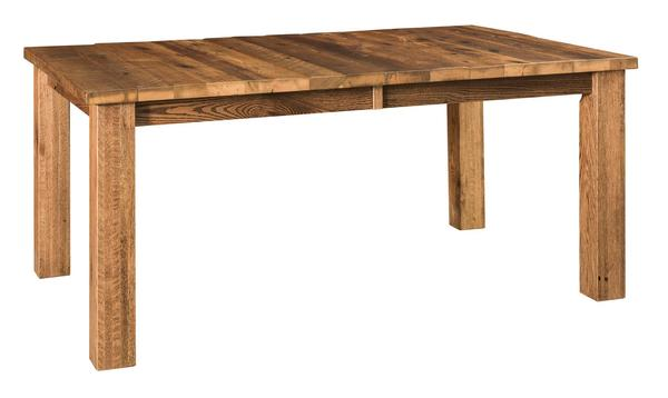 Amish Barnloft Leg Dining Table