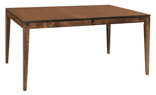 Amish Bedford Hills Leg Dining Table