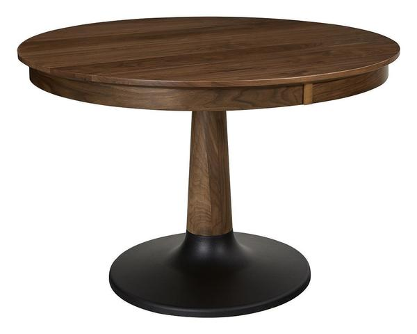 Amish Bowie Single Pedestal Dining Table