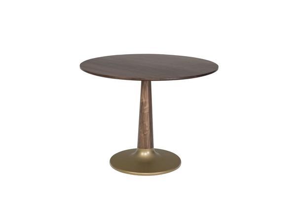 Amish Bowie Single Pedestal Pub Table