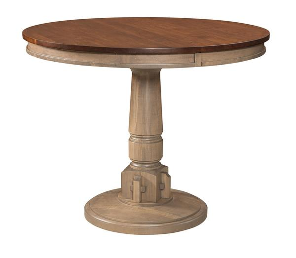 Amish Bellaire Round Pub Table