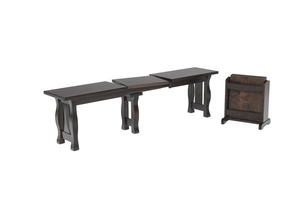 Amish Foley Dining Extend-A-Bench