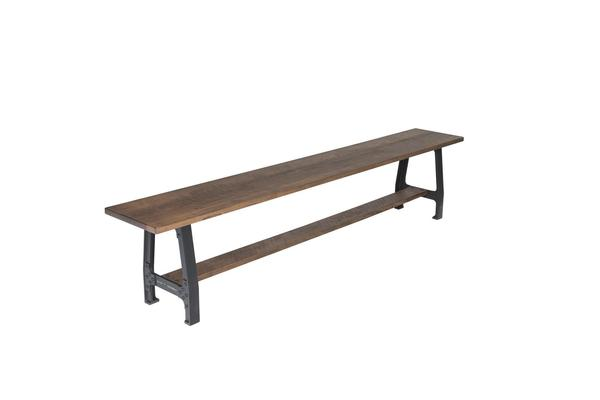 Amish Laredo Solid Bench