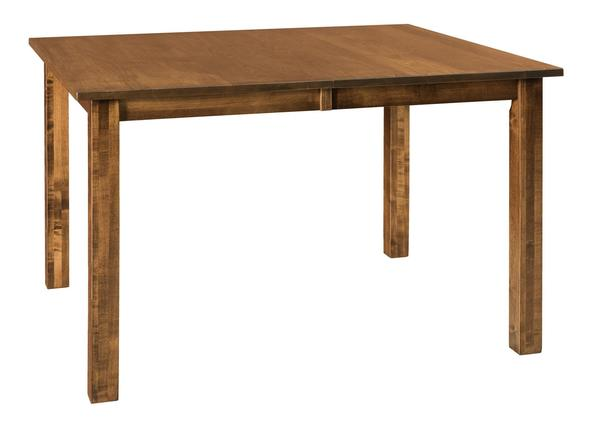 Amish Eco Mission Leg Dining Table