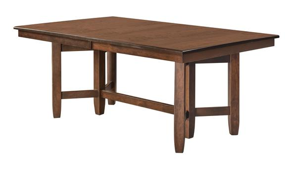 Amish Montana Trestle Dining Room Table