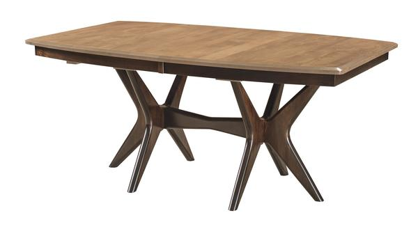 Amish West Newton Trestle Dining Room Table